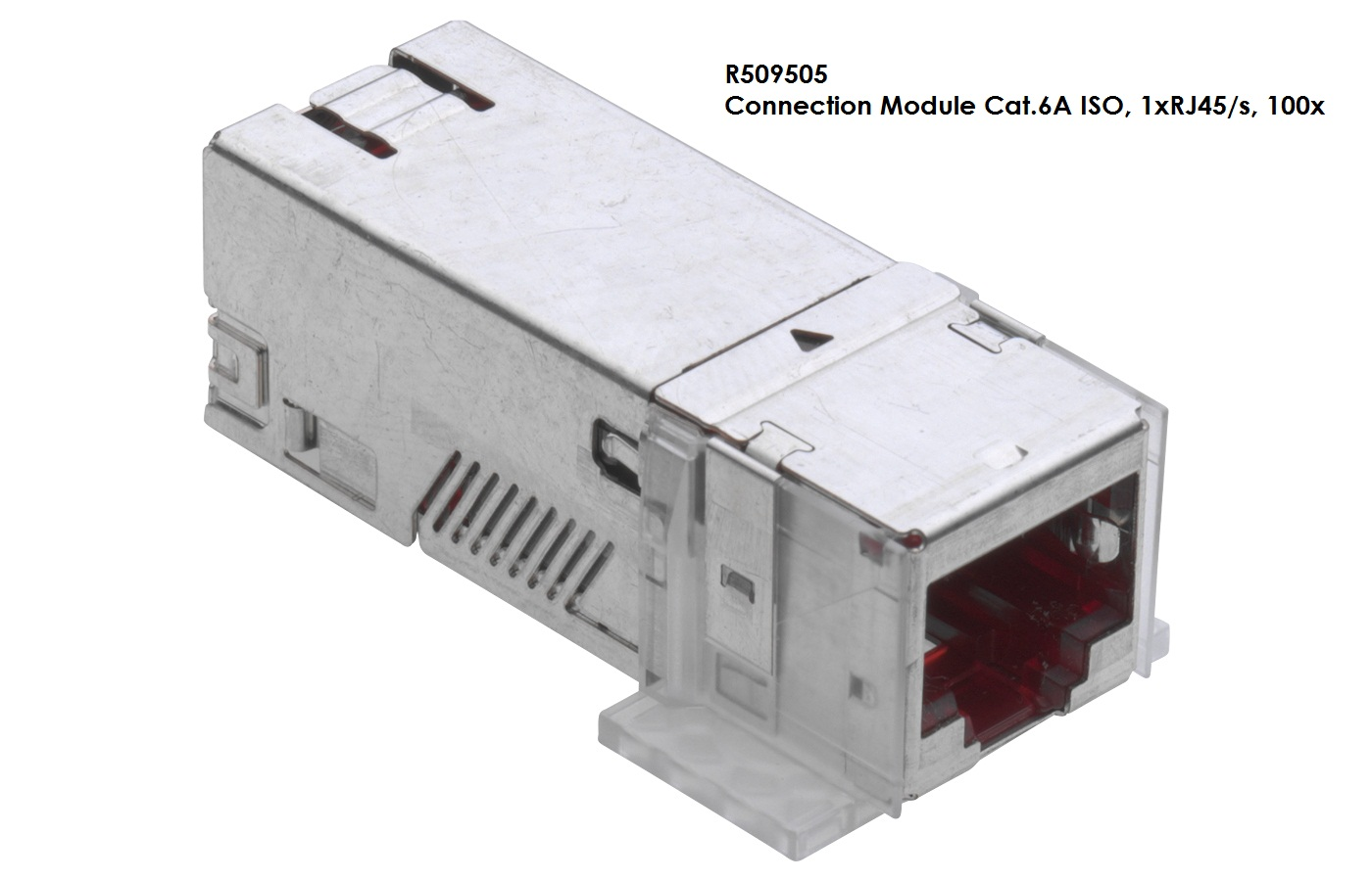 Connection Module Cat6a Iso 1xrj45 S 100x Pt Anugerah Maju Bersama Rj45 Shielded Wiring Diagram 1 X Of For The Setting Up Transmission Channels Class Ea With To